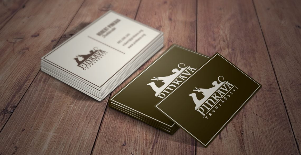 Pinkava Truhlarstvi Business Cards